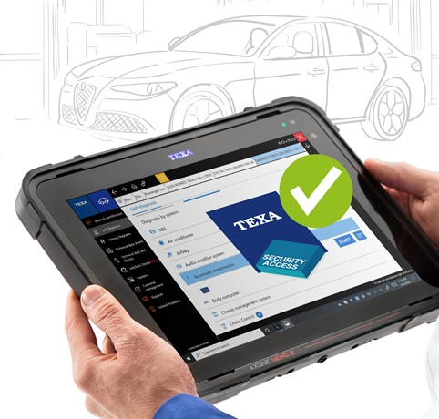 LE DIAGNOSTIC FCA ILLIMITE AVEC TEXA SECURITY ACCESS